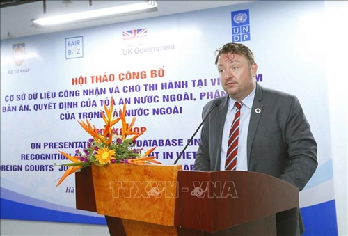 Database on recognition and enforcement of foreign judgments in Vietnam launched