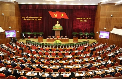 13th Party Central Committee convenes second plenum