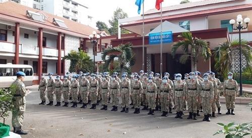Vietnams peacekeeping force wins high appreciation