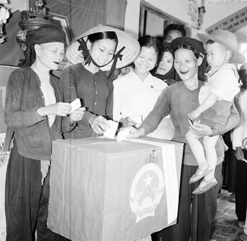 The 1946 general election - a milestone in formation and development of the democratic institution of Vietnam