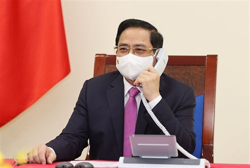 VN Thai PMs to work together to overcome pandemic challenges