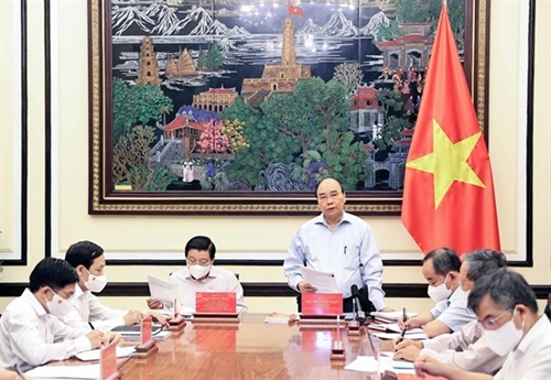 President chairs meeting on project to improve governance law-making capacity
