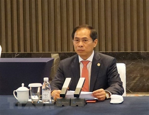 Vietnam attends 6th Mekong-Lancang Cooperation Foreign Ministers Meeting