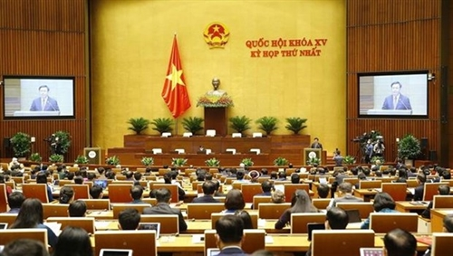 15th National Assemblys first session opens