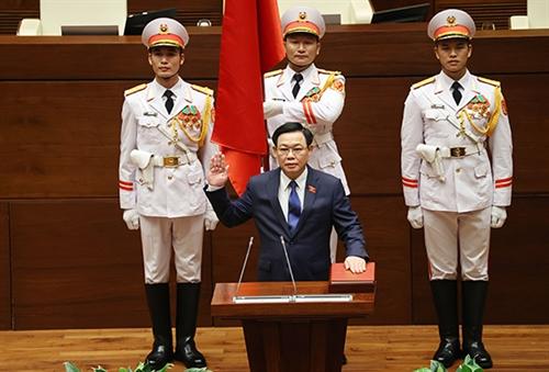 New-tenure legislature resolves to raise its operational efficiency: top legislator