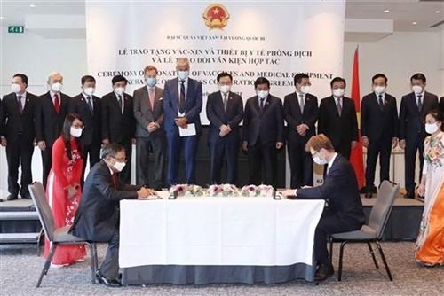 European media highlights Vietnamese NA leaders visit to Europe Belgium